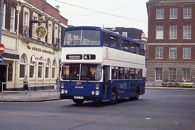 KHCT 801 Central Bus Stn Hull Sep 89
