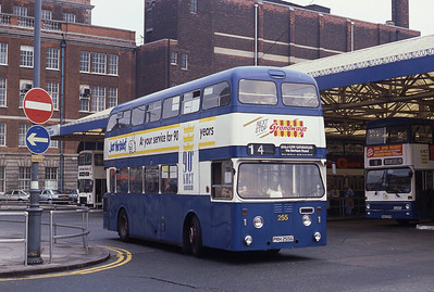 KHCT 255 Central Bus Stn Hull Sep 89
