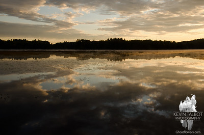 Powow River Sunrise September 18, 2011