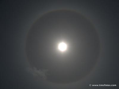 Ring around the Sun.
