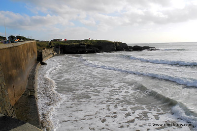 No chance of building sandcastles today at Garretstown Beach