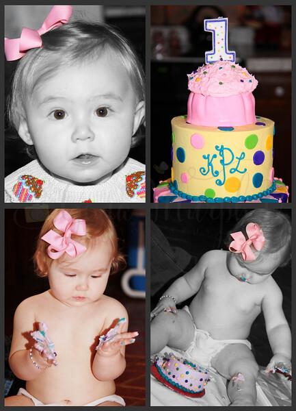 Kinsley 1st Birthday