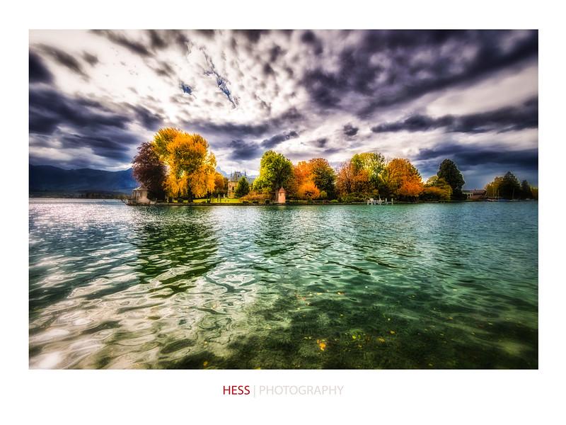 Schadau im Herbst