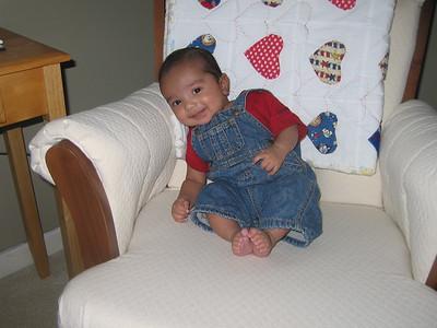 Kiran as a baby