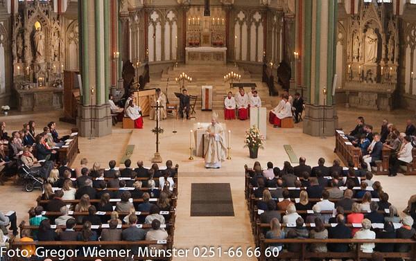 Firmung am 12.05.2012 Kreuzkirche Münster mit Bischof Dr. Stefan Zekorn