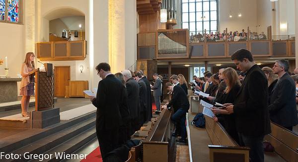 Konfirmation in der Evangelischen Kreuzkirche Bonn
