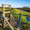 Stile at Bramwith lock