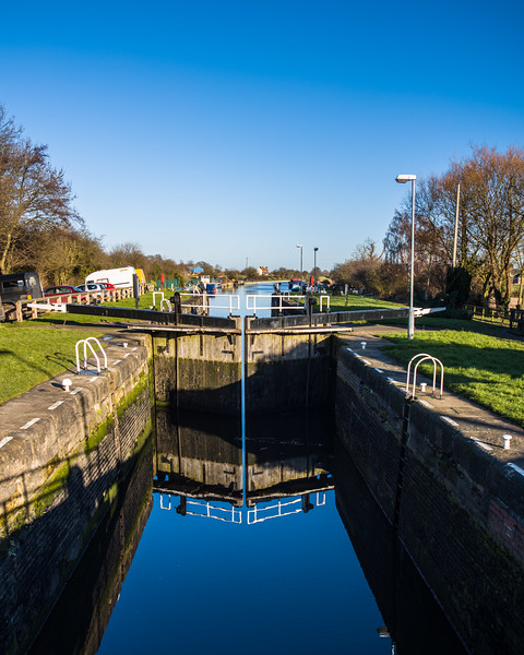 Bramwith canal lock