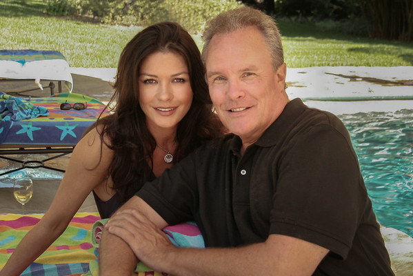 Christopher Briscoe with Catherine Zeta-Jones