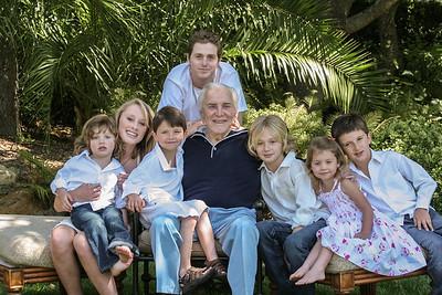 Kirk Douglas family 2009