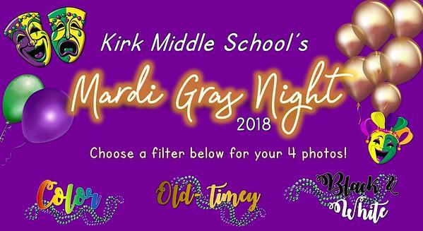 Kirk Mardi Gras Night 2018
