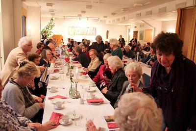 Ca 100 gjester feiret 50-årsjubileet på St.Hanshaugen