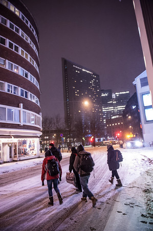 Utvalg bilder- miljø i byen