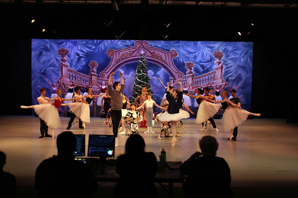 Winter Performance, Tuesday & Wednesday rehearsals