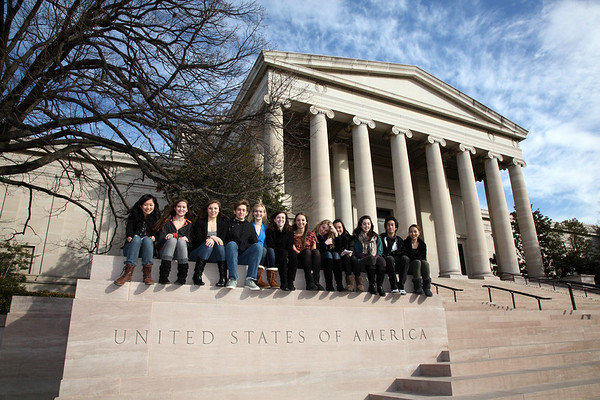 Seniors at the National Gallery