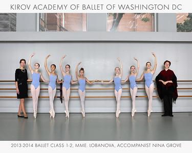 2013-2014 Classes