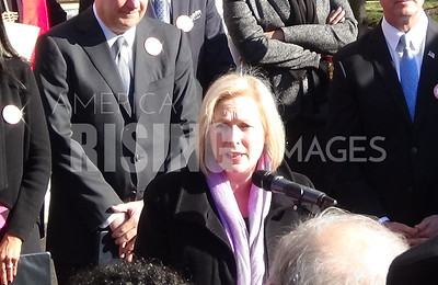 Kirsten Gillibrand At Inside Out Project Presser In Washington, DC