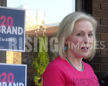 Kirsten Gillibrand Attends Meet And Greet In Ames, IA