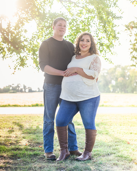 ©Waters Photography_Kirsten and Kevin Maternity Sept 201953