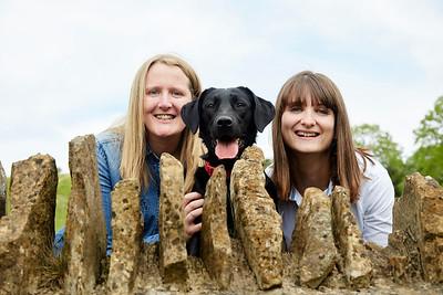 Kirstie, Gemma,   & Millie