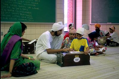 Learning Kirtan at Sikh Summer Camp (Pittsburgh, PA)