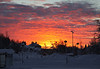 Sunrise - unreal colors! 2013-01-05