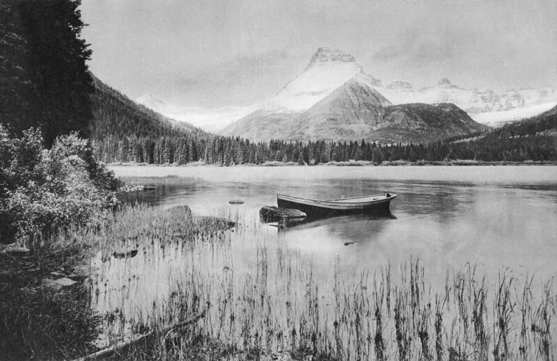 Lake McDermott and Mount Wilbur