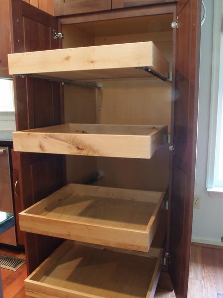 Pantry, Shelves Extended