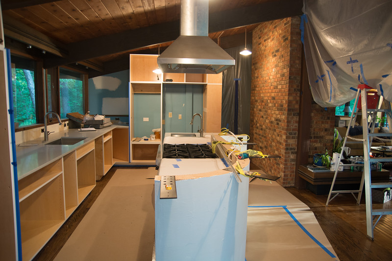Stove and sinks!