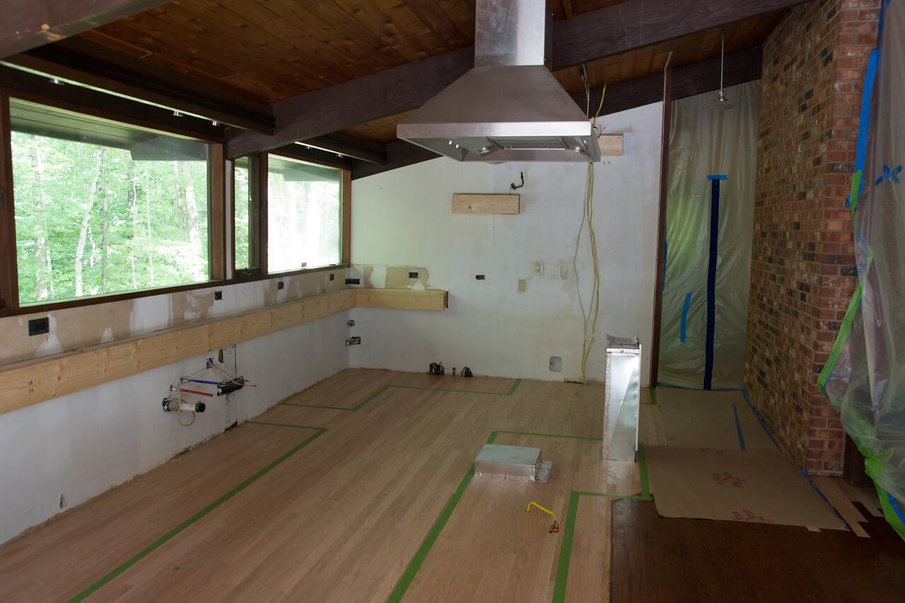 Week 3: New flooring