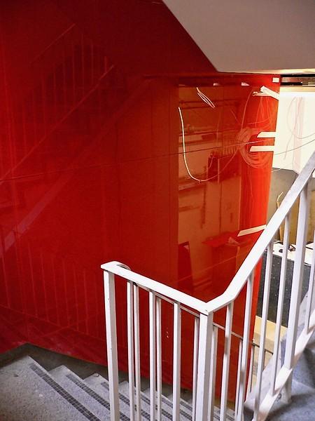 Glass Wall - Back Painted Reception Lobby - E1