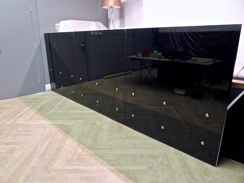 Glass Balustarde - Golden Square W1