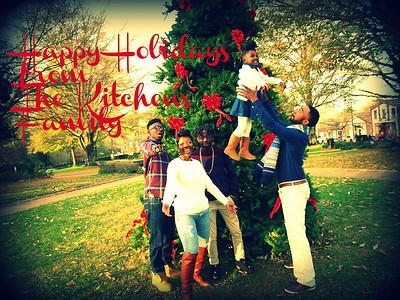 Kitchens Family Holiday Shoot