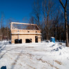 Barn framing done, ready for roof plywood