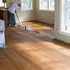 Tung Oil finish applied to floors by Glen Skibicki