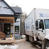 Murphy's Celltech truck begins cellulose insulation