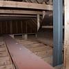 Catwalk in the attic space