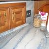 Azul Imperial Kitchen Top by Schlitzberger Stone Designs