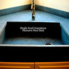 Farmer's Face Soapstone Sink by Schlitzberger Stone Dsigns
