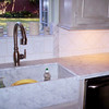 Carrera White Marble Kitchen by Schlitberger