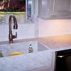 Carrera White Marble Kitchen by Schlitberger