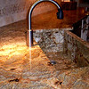 A Completed Farmer's Face Sink by Schlitzberger Stone Designs