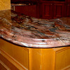 A Kitchen Bar Top in Blue Fusion by Schlitzberger Stone Desings