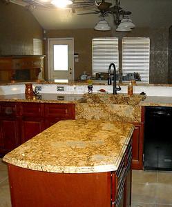 Monserrat Gold Kitchen