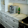 White Marble Kitchen Tops by Schlitzberger