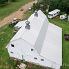 Aerial view. The Barn