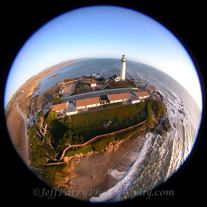 Pigeon Point Ligthouse, Kite Aerial Photograph