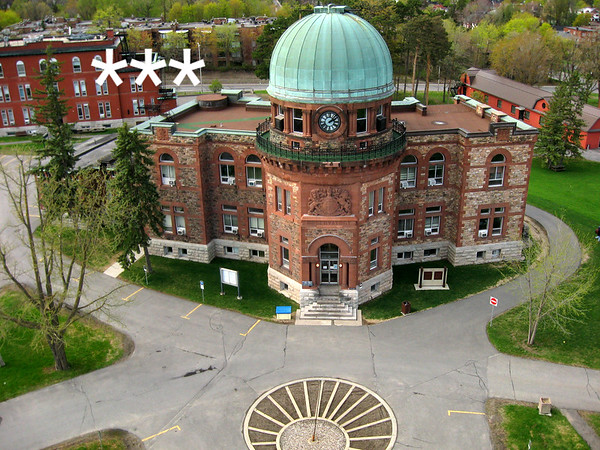 Dominion Observatory, Central Experimental Farm, Ottawa, Ontario. - Aerial view.