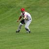 Marblehead, Ma. 5-22-17. Ben Btennan fields one against Lynn Classical High.