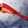 Revere, Ma. 5-21-17. A flo form kite belonging to Matthew Soohoo at the Revere Beach Kite Festival.